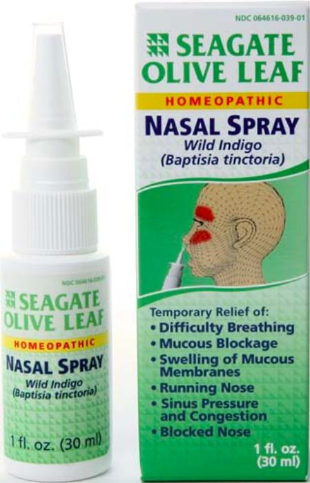 Seagate Olive Leaf Nasal Spray 1 Fl Oz